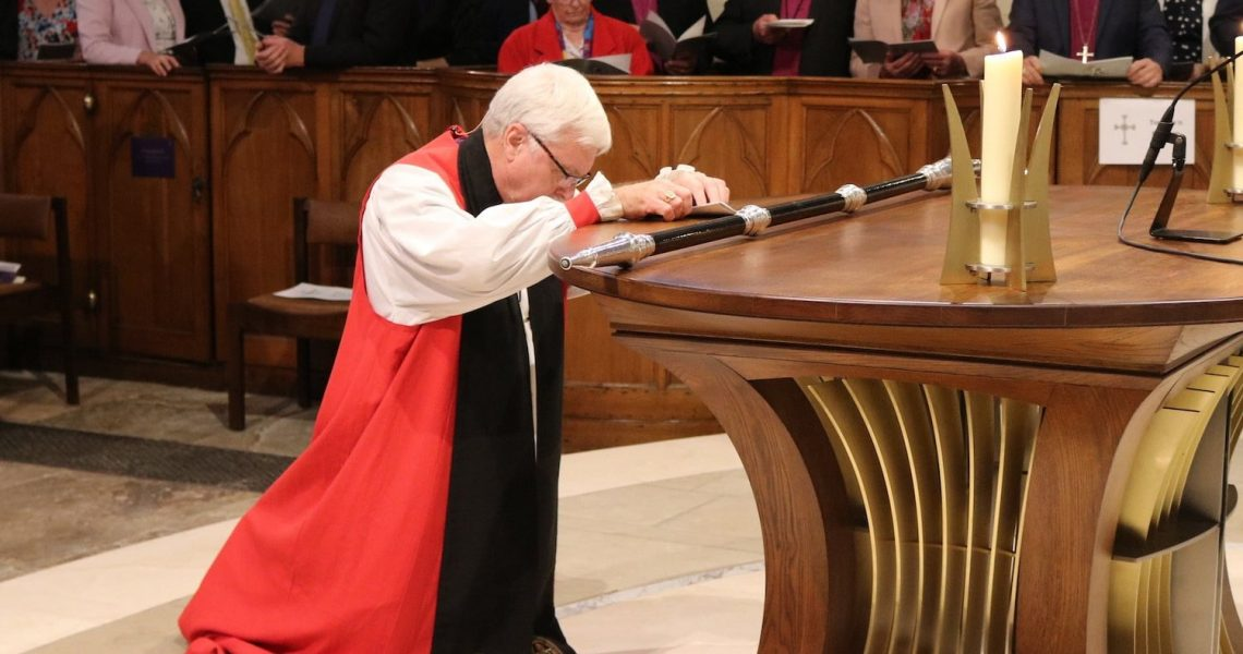 Bishop Harold's farewell service
